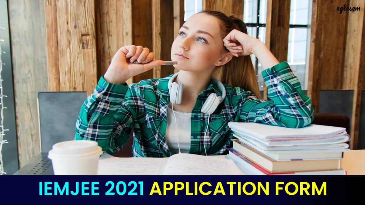 IEMJEE 2021 Application Form
