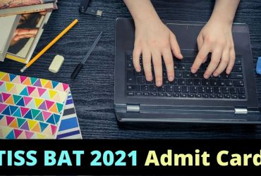 TISS BAT 2021 Admit Card