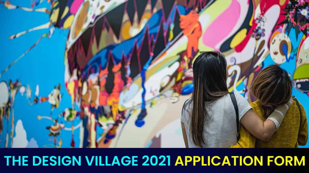 The Design Village 2021 Application Form
