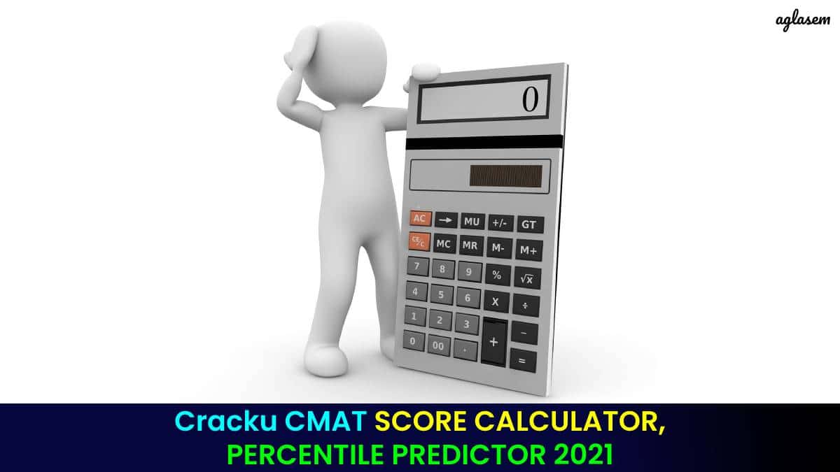 Cracku CMAT SCORE CALCULATOR, PERCENTILE PREDICTOR 2021