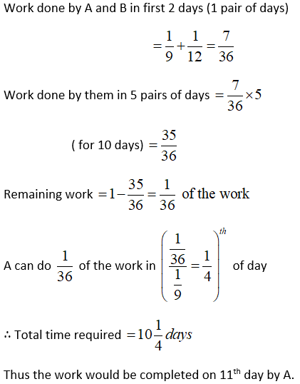 Problems-on-Time-and-Work