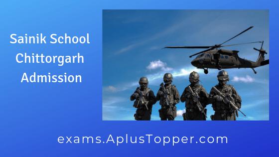 Sainik School Chittorgarh Admission