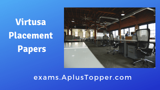 Virtusa Placement Papers