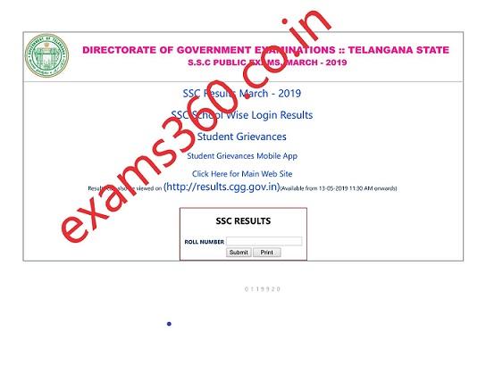 TS SSC Results 2019 Download Manabadi Telangana 10th Marks Sheet