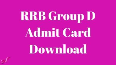 Photo of RRB Group D Admit Card Download