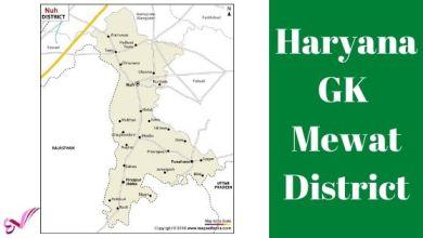 Photo of मेवात (नूँह) जिला – Haryana GK Mewat District