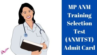 Photo of MP ANM Training Selection Test (ANMTST) Admit Card 2020