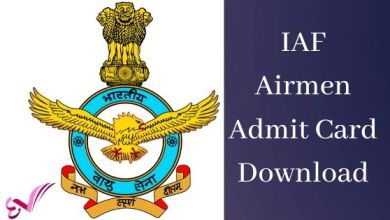 Photo of Indian Air Force Airmen (Group X & Y) Admit Card Download