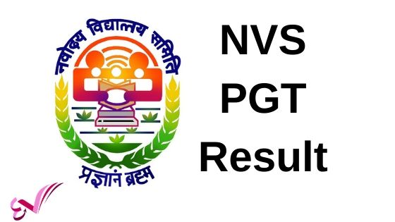 NVS PGT Result Download
