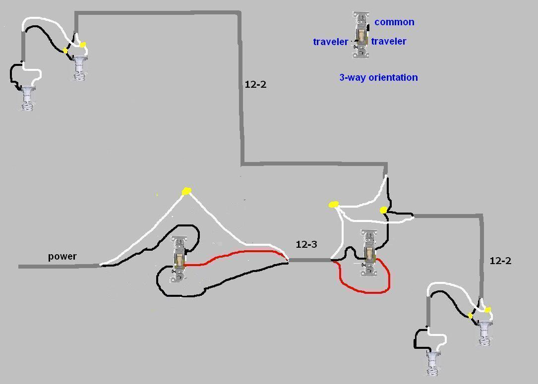 3 Way Wiring Diagram