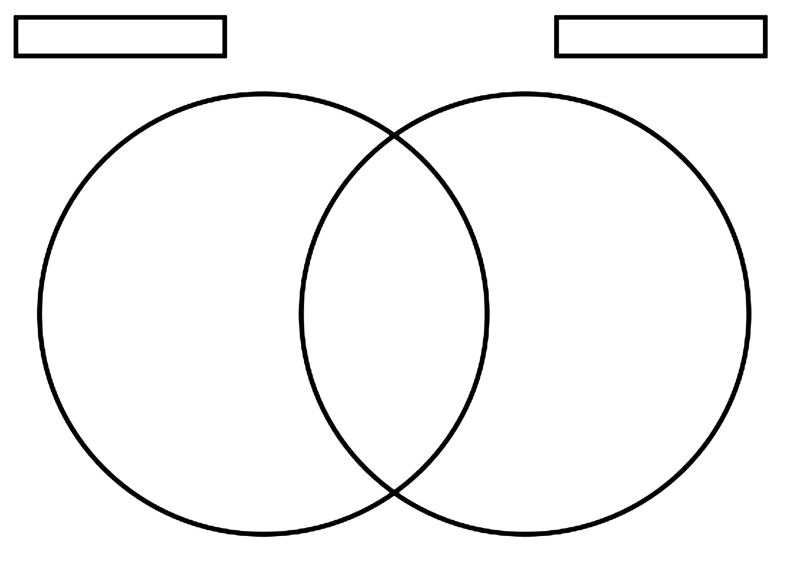 Venn Diagram Worksheet