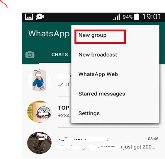 Create Whatsapp Group
