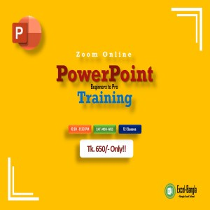 PowerPoint Basic to Advanced Live Online Training Program