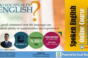 Spoken English Live Training Banner