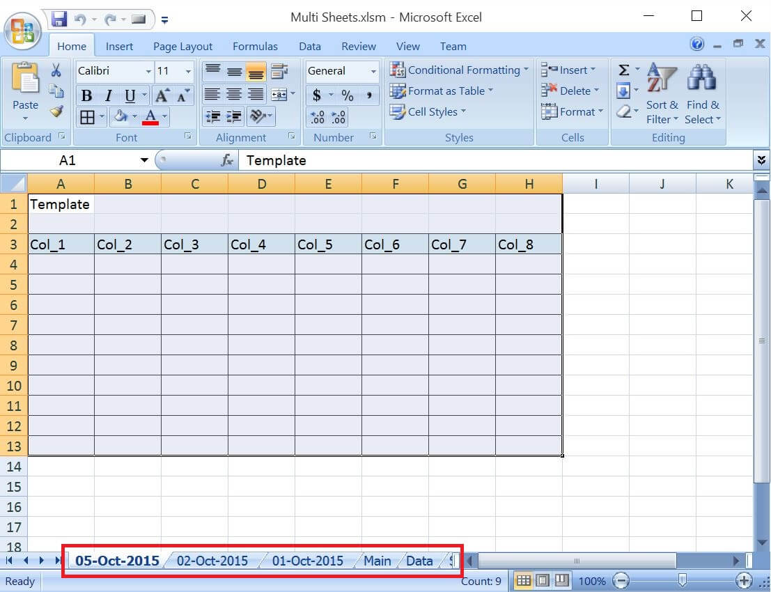 Excel Vba Add Worksheet To New Workbook