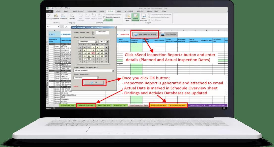 Inspection Findings screenshot 2