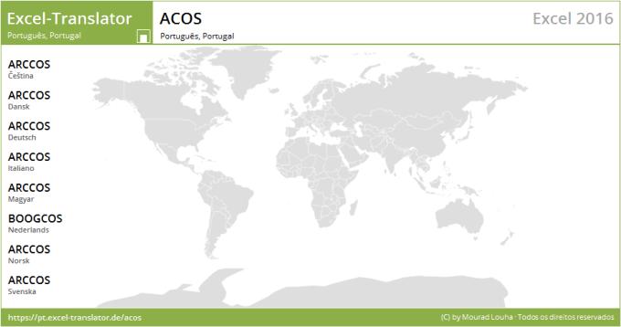 Acos Excel Translator