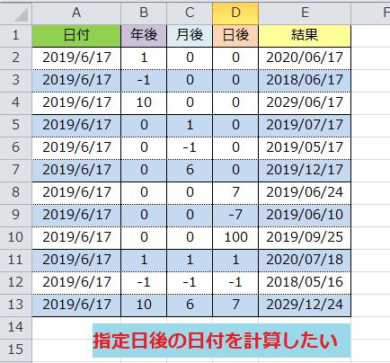日付 計算