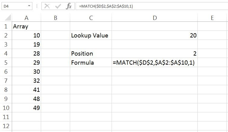 Match Example 1