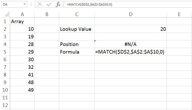 Match Example 2