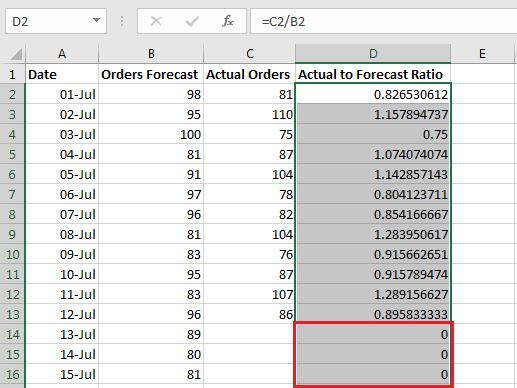 Hide results based on Date 3