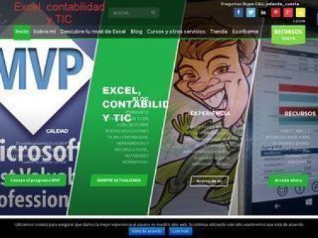 Webs amigas Excel