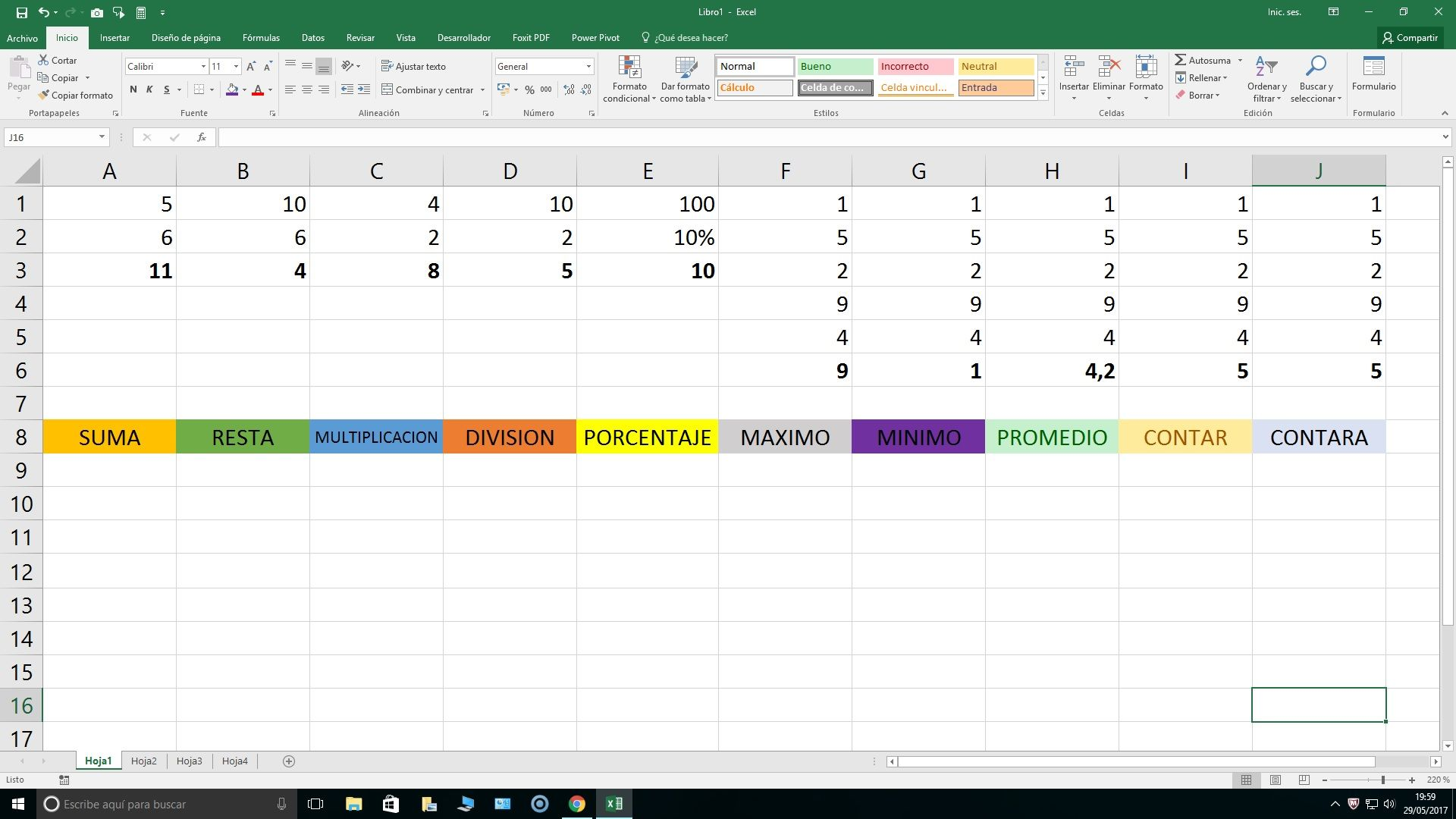 Conoce Estas 10 Funciones De Excel Y Ejemplos
