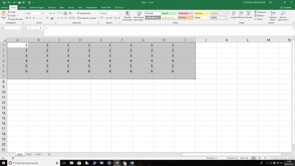 Autosuma en Excel