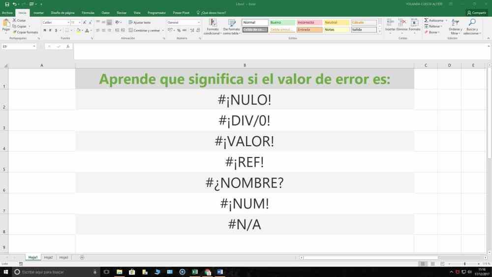 Excel. PEQUEÑOS TRUCOS