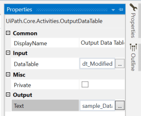 UiPath Get Top N records from datatable 5