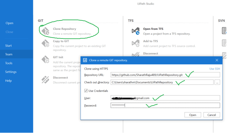GIT Integration with UiPath 4.PNG