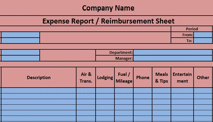 7 how do you keep track of business expenses and income in. Download Expense Report Excel Template Exceldatapro