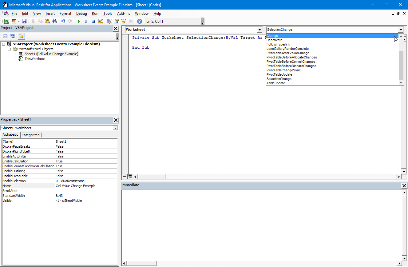 Rename Active Worksheet In Vba