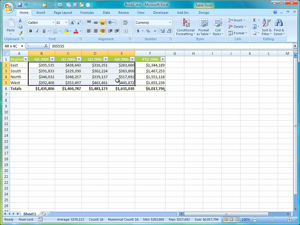 Excel Tally Counter Template