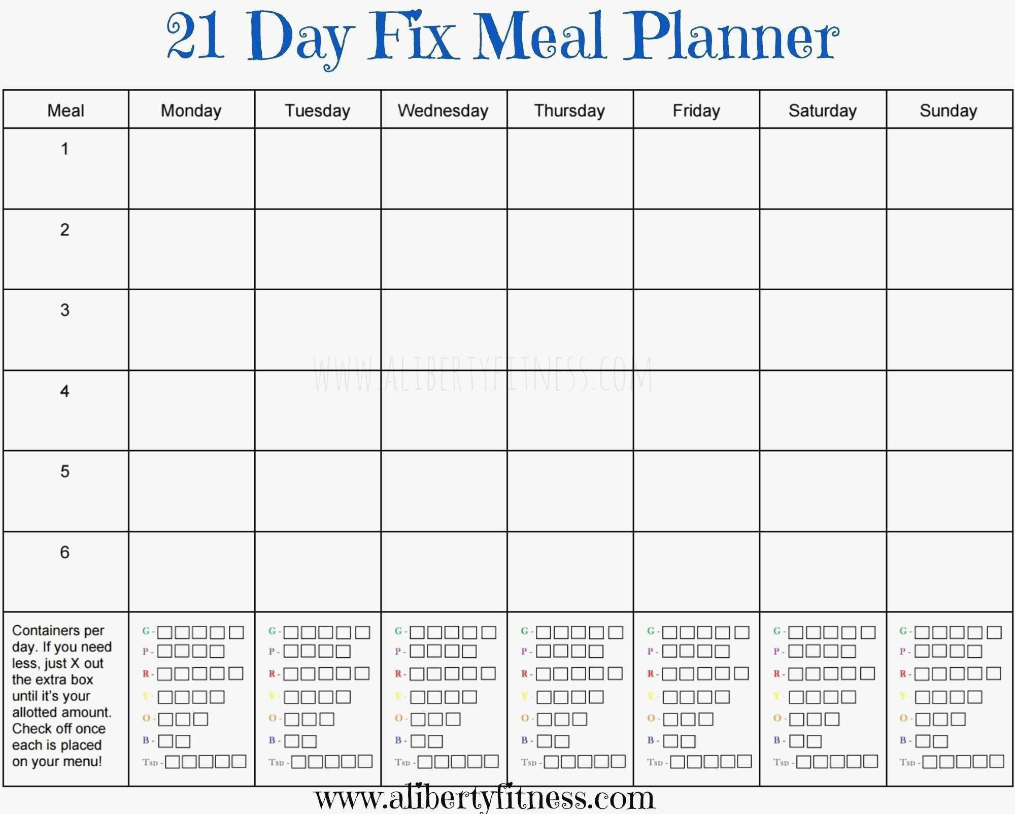 Monthly Chore Chart Template Excel