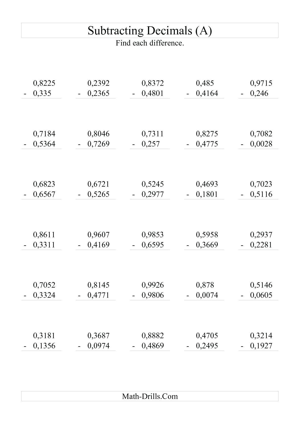 Mathnasium Worksheets