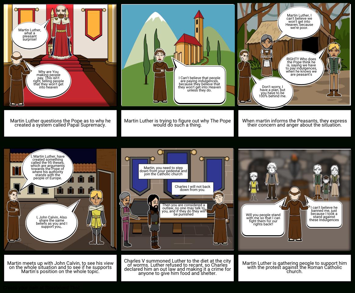 Protestant Reformation Worksheet