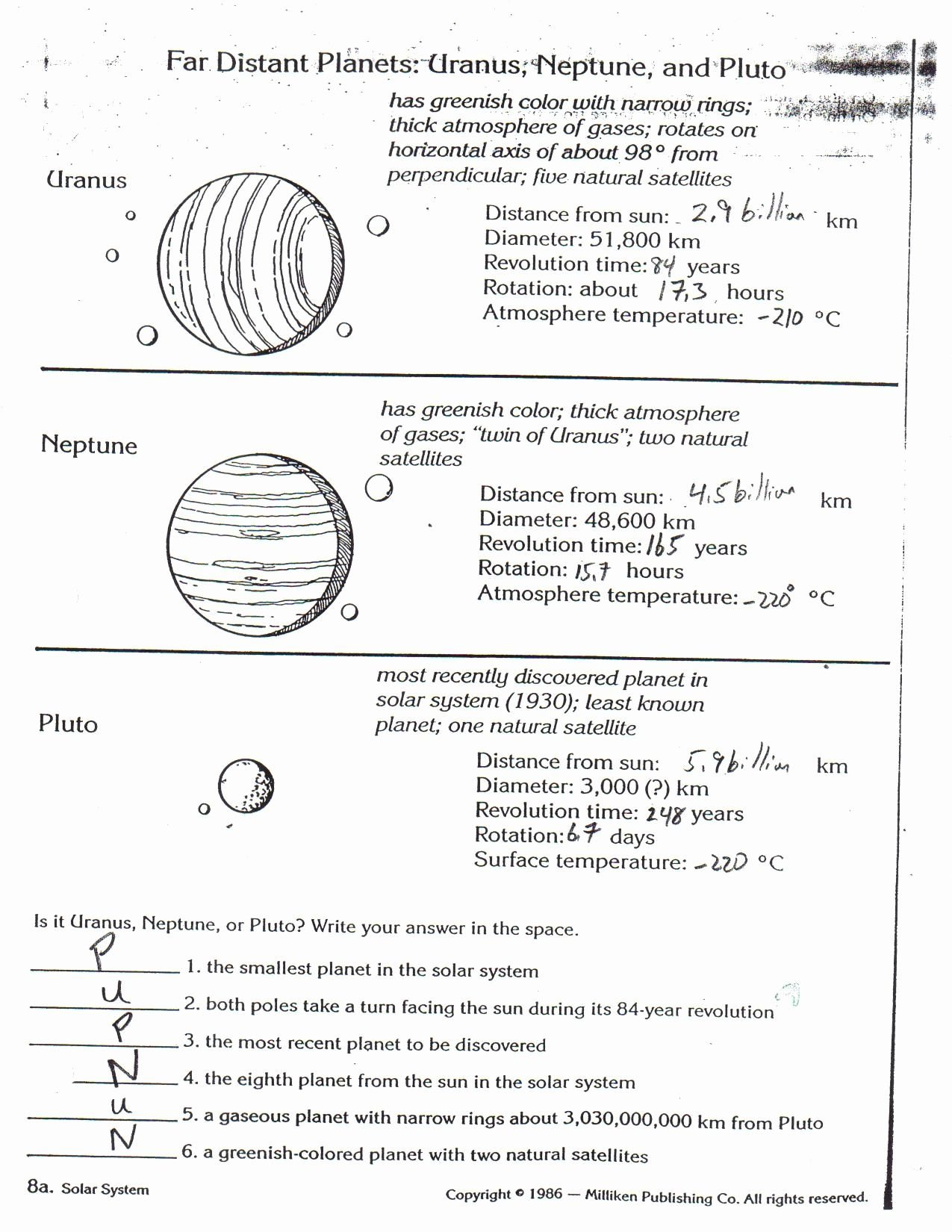 Bill Nye Atmosphere Worksheet Answers