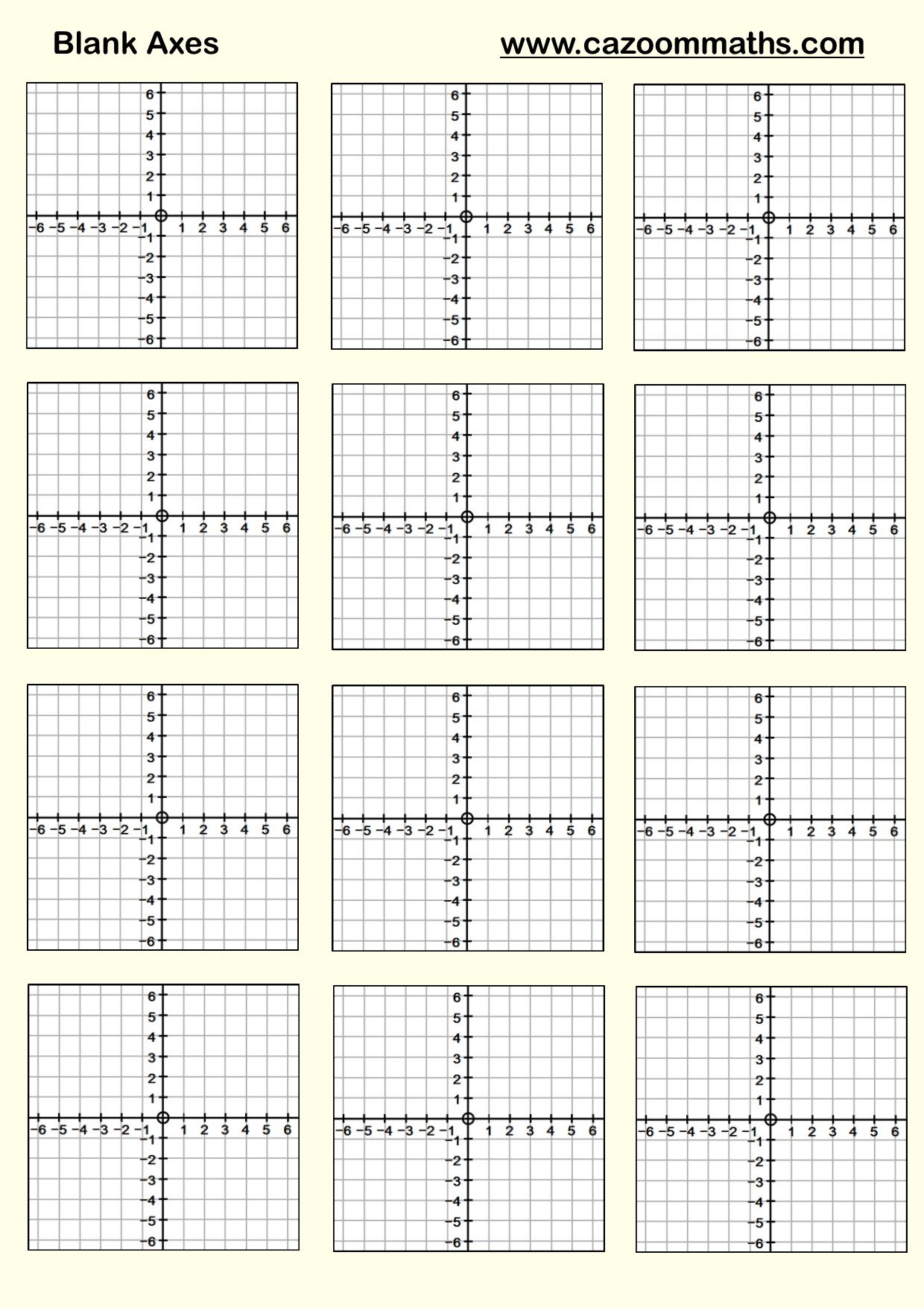 Graphing Linear Functions Worksheet