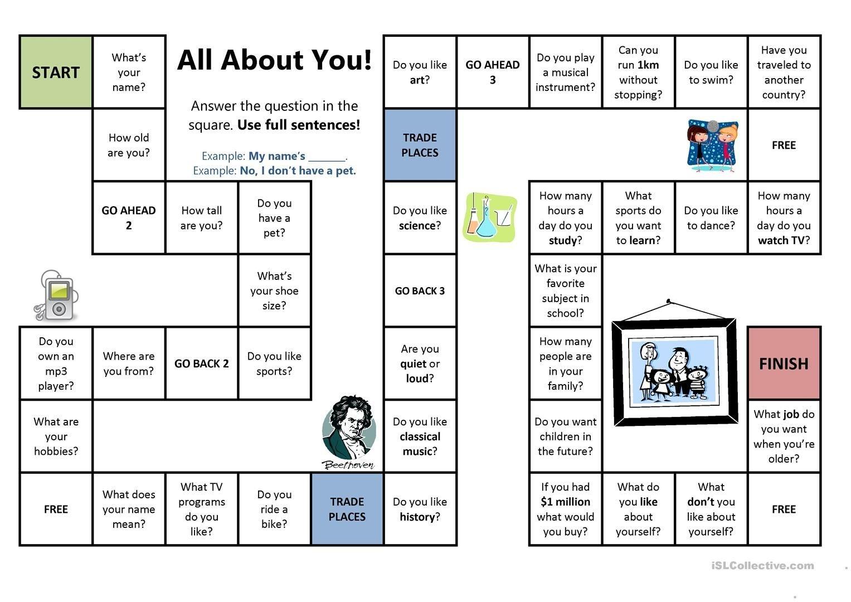 Monopoly Game Worksheet
