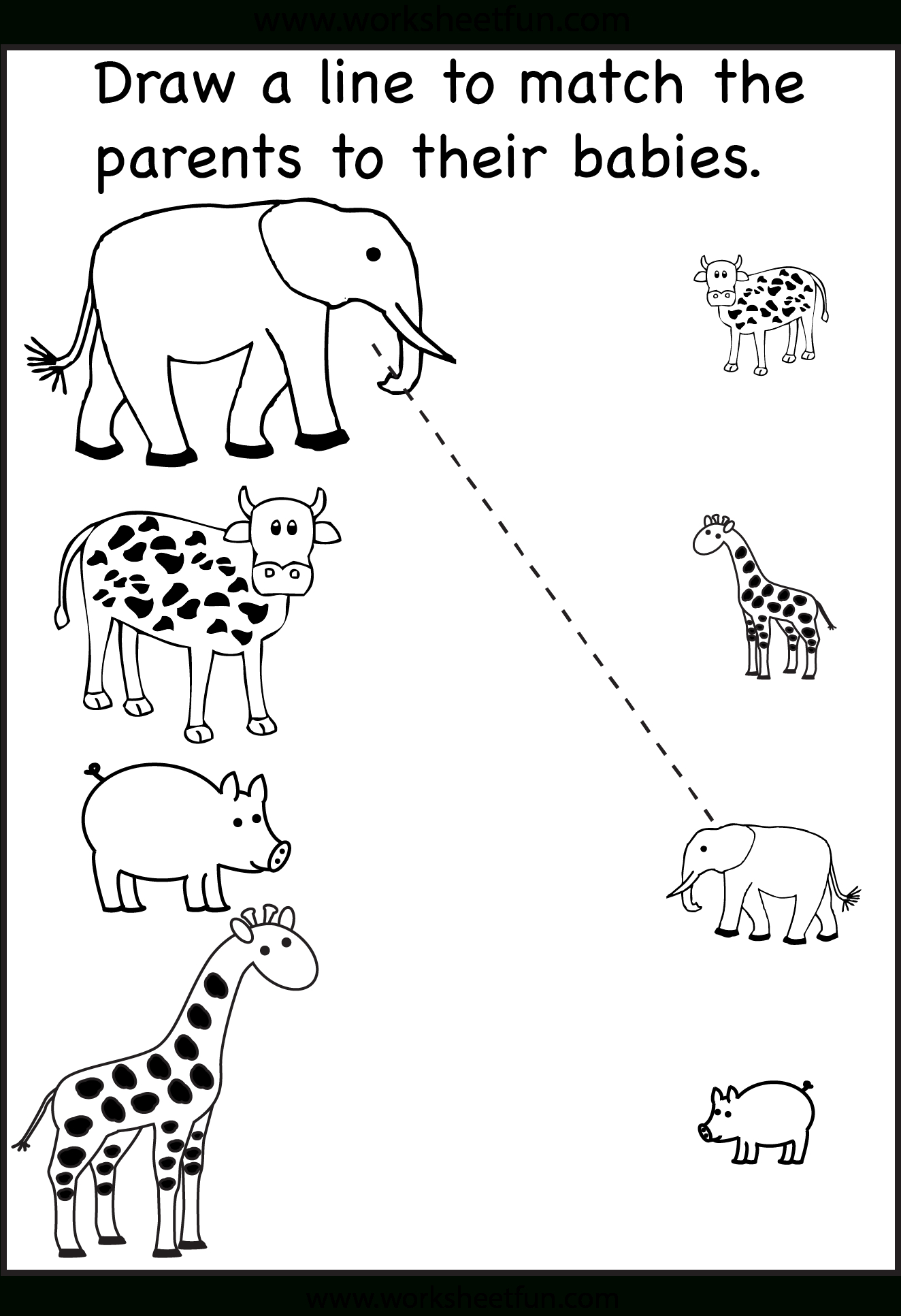 Worksheets For Toddlers Age 2