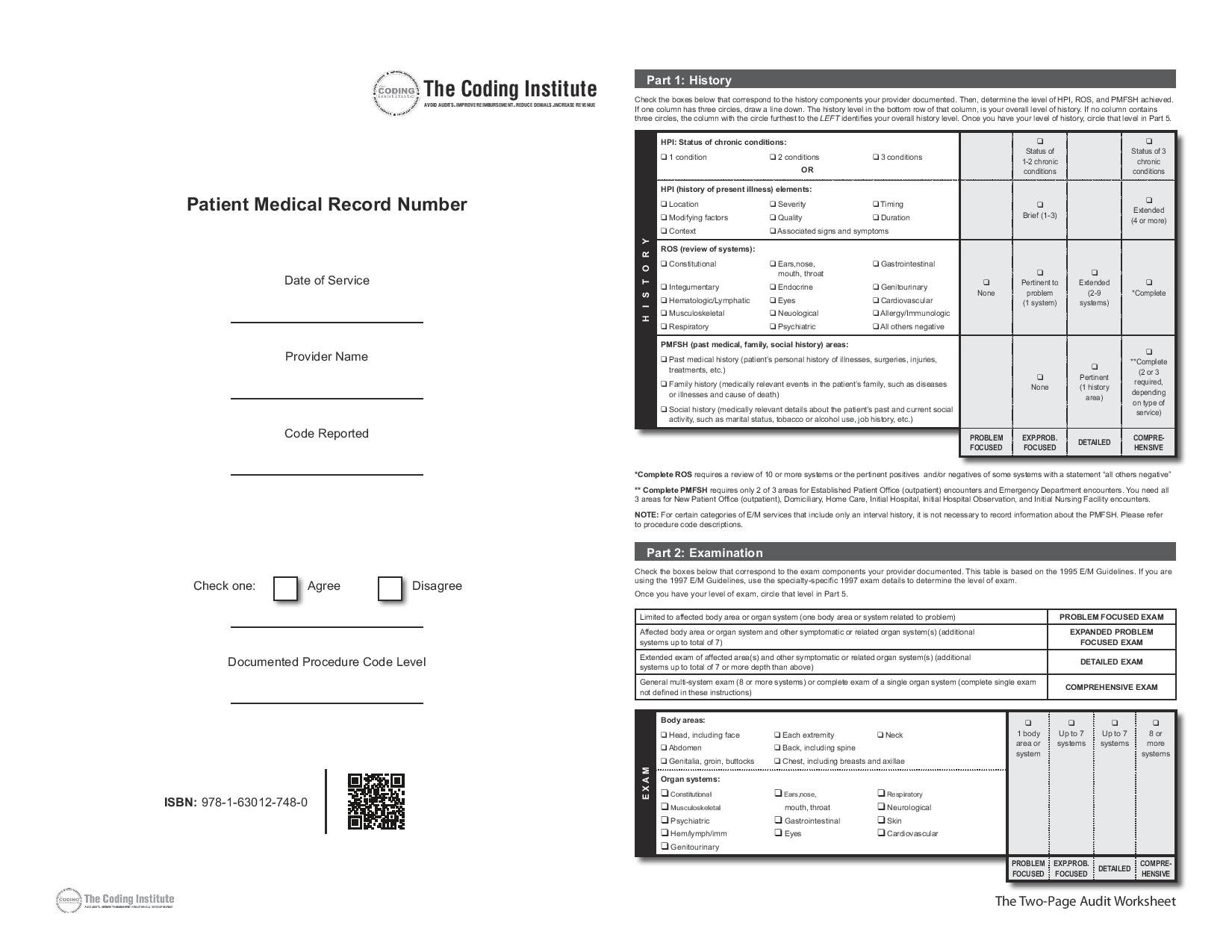 Medical Coding Practice Worksheets
