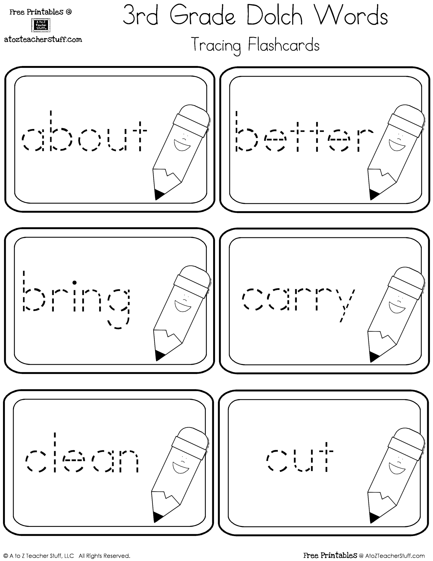 Dolch Sight Words Worksheets