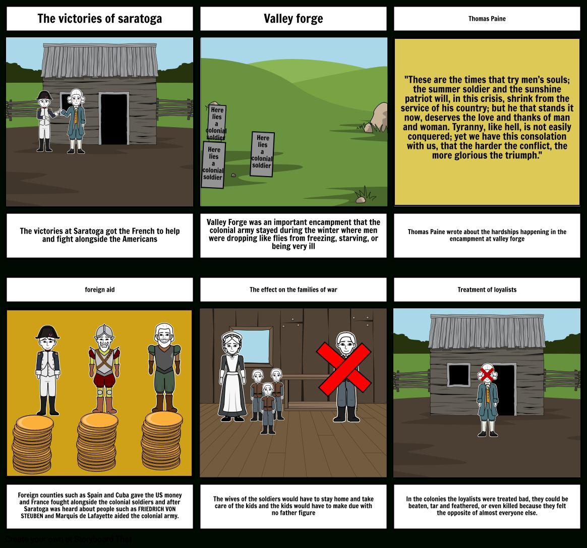 Valley Forge Storyboardgavinendicott Pertaining To Valley