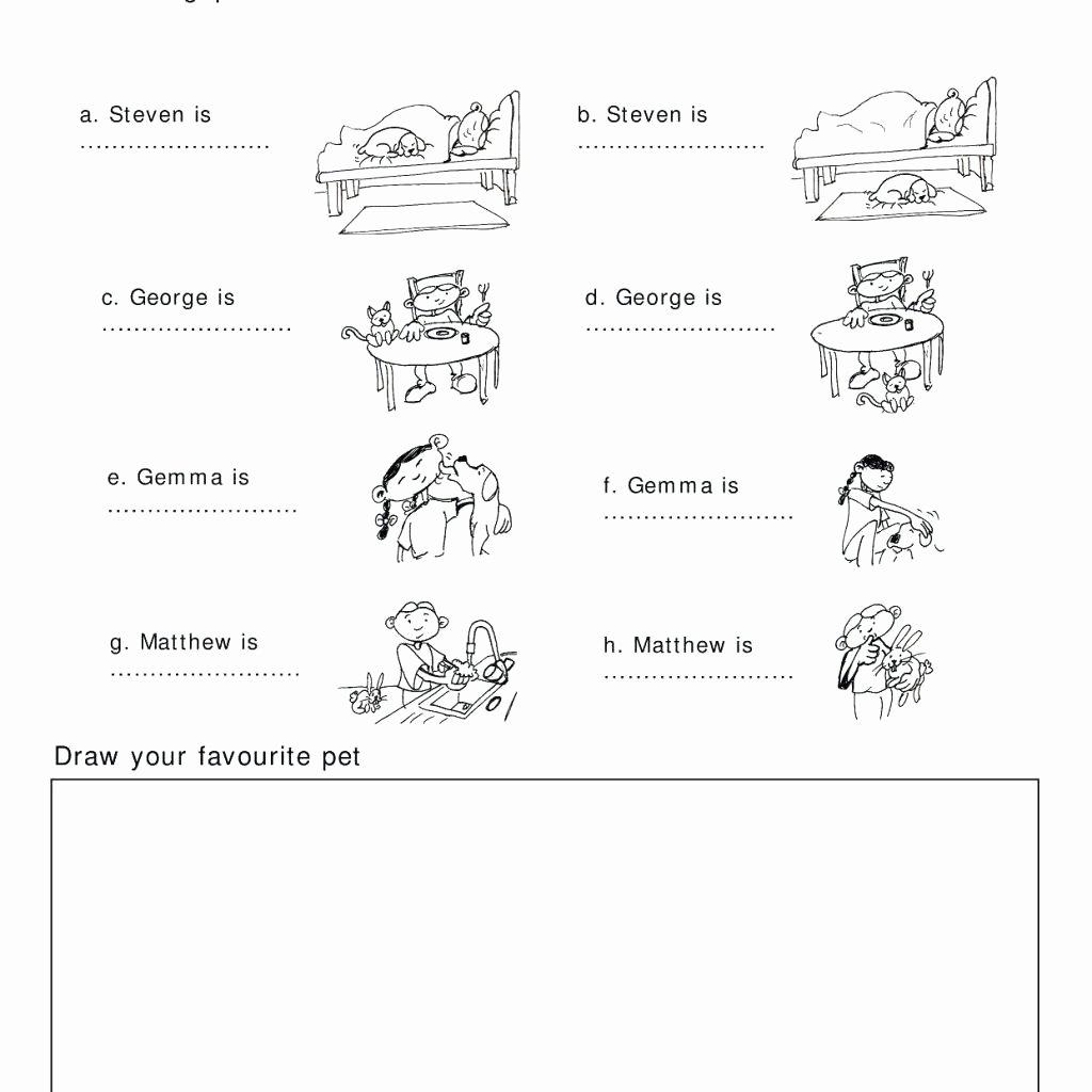 Bullying Worksheets For Kindergarten