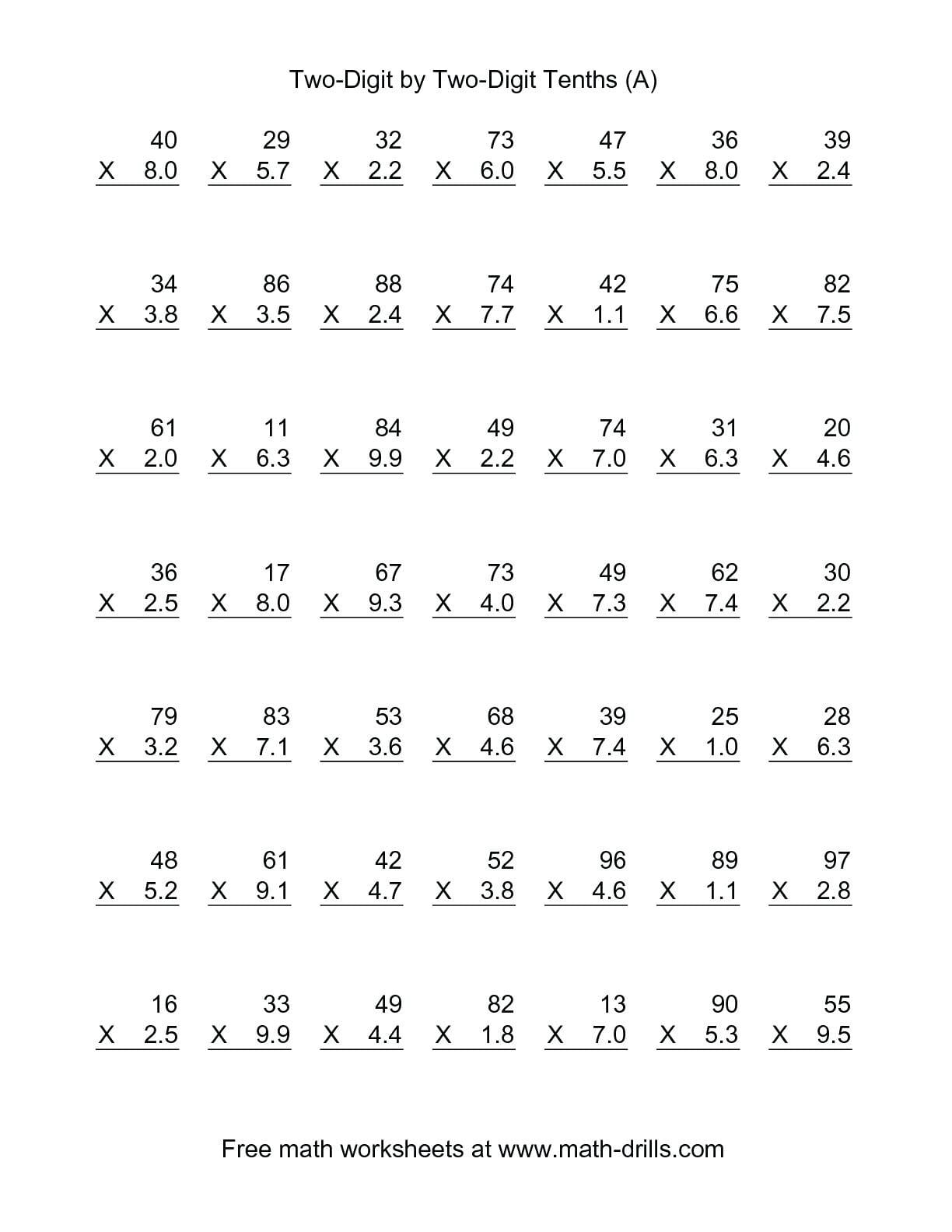 3rd Grade Math Fractions Worksheets
