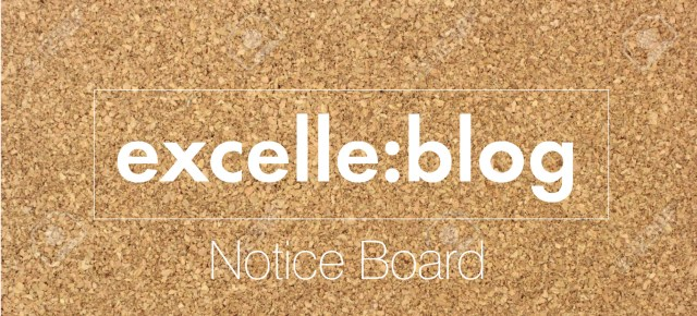 excelle:blog Notice board