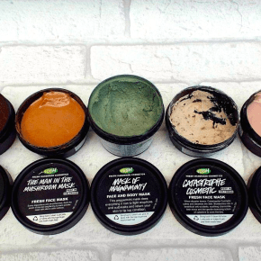 Feeling fresh with Lush