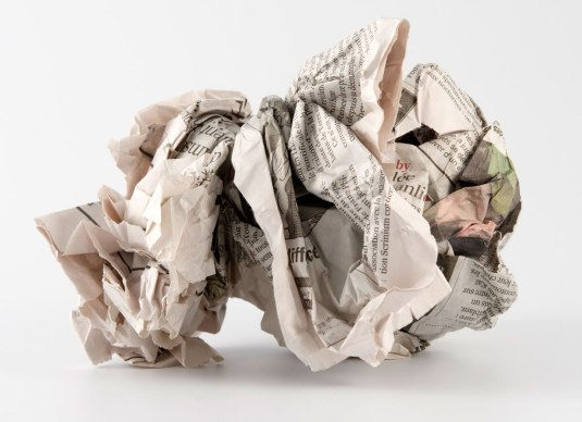 crumpled-newspaper