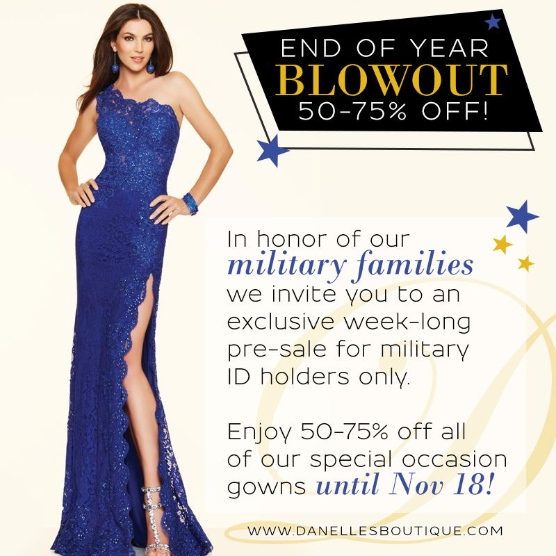 MilitaryVIP - Bridal Boutique Website Design